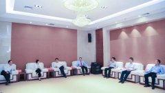 区领导郭庆春 郭庆元带队拜访新入区单位市中级人民法院领导同志