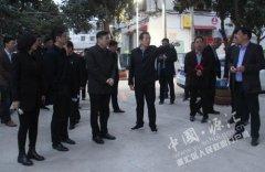 副市长徐汇川到我区调研指导百城建设提质工作