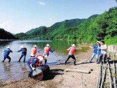填平污水坑,拆除水库养鱼网箱 汝阳县落实中央环保督察组交办案件
