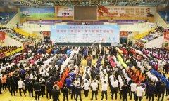 """我县组织参加漯河市""""双汇杯""""第六届职工运动会开幕式"""