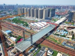 郑北大桥距离终点还剩267米 今年年底前实现通车