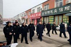 二七区工商质监局嵩山路所参加联合执法严查涉嫌传销活动