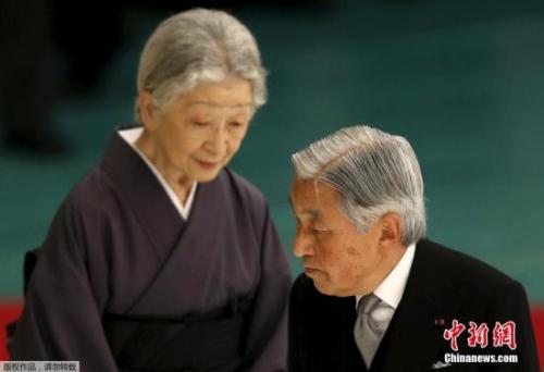 资料图:日本现任天皇夫妇