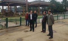 叶县文化广电局负责同志来我县参观考察村级综合文化服务中心建设