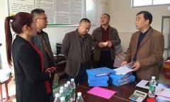 县畜牧局检查畜牧系统驻村第一书记工作