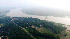 河南兰考张庄――这里是九曲黄河最后一个弯