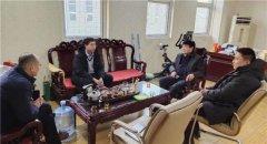 县领导胡聚兵到明帅智能光电科技有限公司走访调研