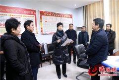吴海燕调研新型冠状病毒感染的肺炎疫情防控工作 共同努力 众志成城 确保全县人民群众安全
