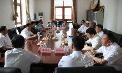市四大班子领导到我区看望慰问穆斯林群众