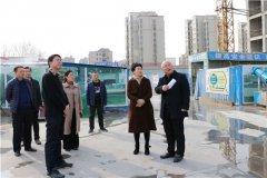 区委常委、常务副区长卢丽琴实地察看城建重点项目进展情况