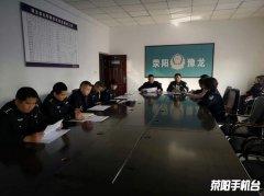 豫龙镇社区民警进校园 安全检查保安全