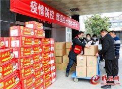 睢县红十字会:七万元物资发放到各乡镇 全力支持疫情防控
