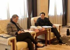 濮阳副市长、县委书记张宏义会见美国通用电气可再生能源集团陆上风电亚洲区CEO雪莉一行