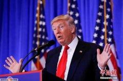 特朗普表示就职典礼后愿与俄总统普京举行会晤