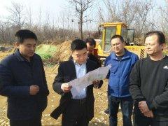 区长苏建设带队视察生态建设项目推进情况
