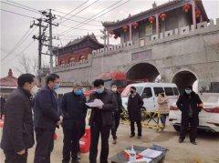 县领导胡聚兵、王学锋到海通乡督导疫情防控工作