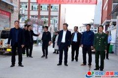 陈富磊深入学校调研校园安全管理工作