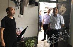 副区长李书旺调研脱贫攻坚工作