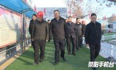 市领导王向东调研督导环境污染防治工作