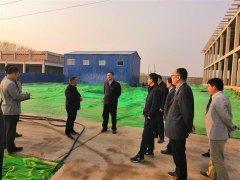 周新民带队调研重点项目建设及环保攻坚工作