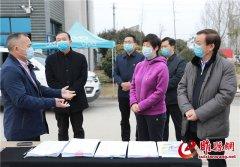 吴海燕调研疫情防控和企业复工达产工作