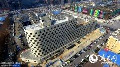 """郑州现12层巨型""""轮船""""楼 堪称""""陆地巡洋舰"""""""