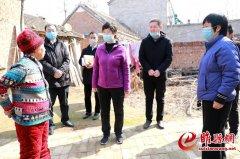吴海燕到西陵寺镇调研指导疫情防控和脱贫攻坚工作