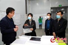 吴海燕到商丘金振源电子科技有限公司走访调研