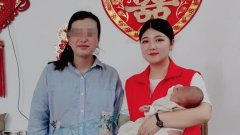 平顶山不孕不育医院治输卵管不孕---四年未孕,如愿抱上大胖小子