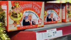 俄推出印特朗普头像方糖:希翼俄美关系更甜蜜