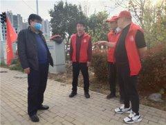 县领导胡聚兵到分包区域督导文明祭扫和禁燃禁放工作