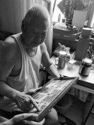 """91岁老八路""""藏""""身社区 曾枪林弹雨中在湍急的黄河上架""""飞线"""""""