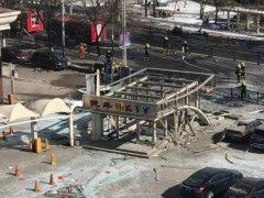 承德市区爆炸致2人受伤 初步认定燃气管道泄漏