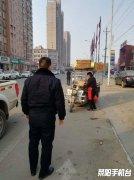市城管局多举措开展春节前市容环境整治活动
