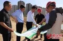 """曹广阔调研""""三湖一河""""项目建设 强调牢固树立新发展理念 高标准高质量推进 确保如期建成发挥效益"""