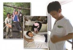 为捐髓救父 8岁儿暴食两个月疯长20多斤