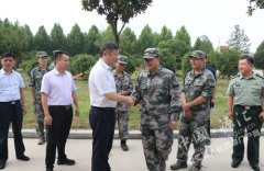 王继周王凯杰等区领导走访慰问驻漯部队官兵
