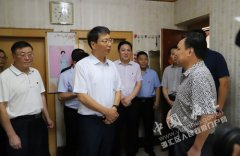 市长刘尚进到我区看望慰问优抚对象
