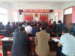 杨集乡第十五届人民代表大会第三次会议胜利召开