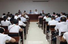 王磊参加干河陈村村民代表大会