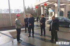 市领导督导检查大气污染防治工作及春节期间值班情况