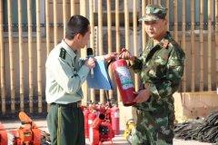 固始县开展西九华山旅游风景区消防安全知识培训暨森林防火专题演练