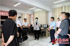 吴海燕检查2020年高考准备工作