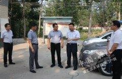 王磊调研村级组织活动场所建设情况