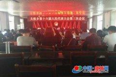 大侯乡召开第十六届人民代表大会第三次会议