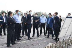 市长刘尚进主持召开第100次城建交通工程周例会研究沙澧河二期综合整治、绿地中心项目等事宜