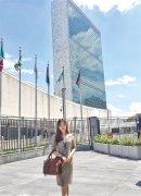 95后姑娘进入联合国纽约总部实习 自称不是学霸