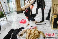 广东茂名警方48小时侦破一起抢劫巨款大案(图)