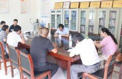 王磊到问十乡督导软弱涣散基层党组织整顿工作