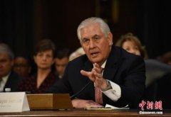 美参院将表决特朗普国务卿人选 麦凯恩表态支持